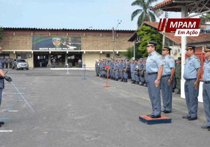 Ministério Público investiga promoção de oficiais da PM no AM