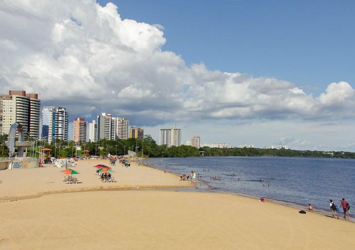 Praia da Ponta Negra fica interditada noferiadoda Semana da Pátria,atendendo decreto do prefeito