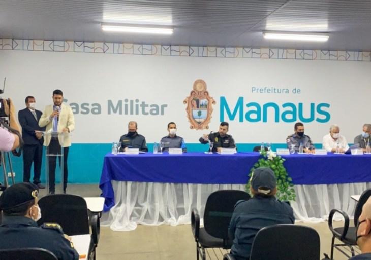 Polícia Militar realiza capacitação da Guarda Municipal de Manaus
