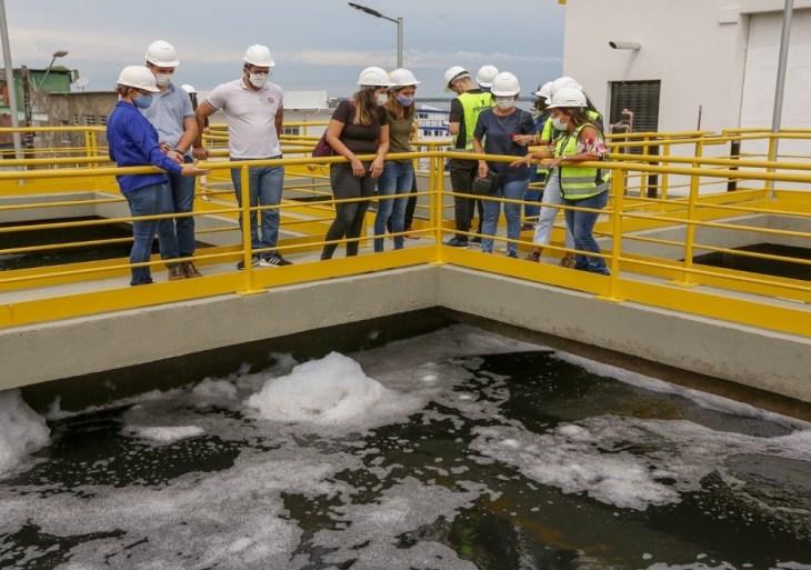 Em Manaus, visitas gratuitas às estações de tratamento de água e esgoto são retomadas; agendamento é necessário