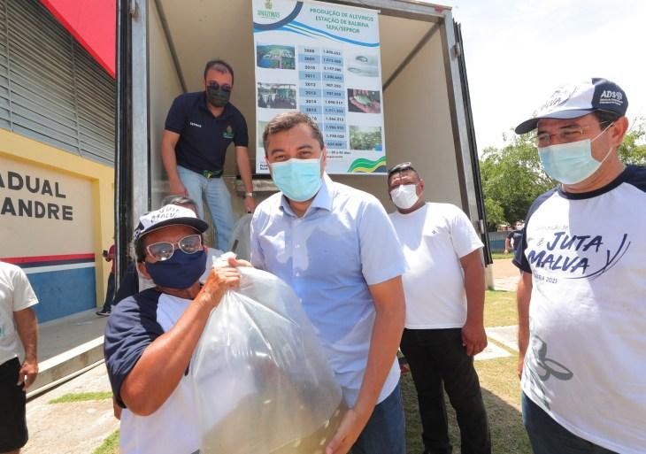Governo do Estado inicia recadastramento de pescadores artesanais em Manacapuru