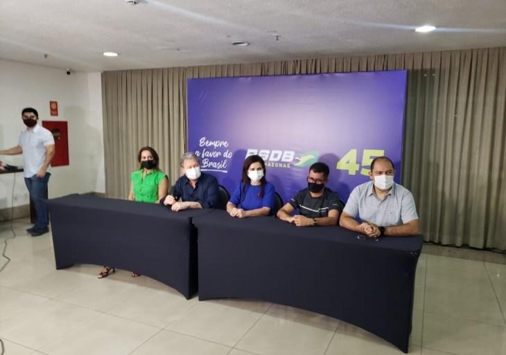 Arthur reúne lideranças e filiados do Amazonas em evento pelas prévias do PSDB