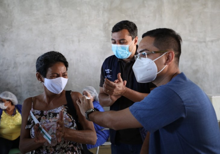 Governo do Estado chega a marca de 500 mil doses de vacinas aplicadas em mutirões da campanha Vacina Amazonas