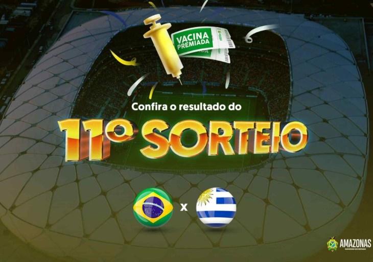 Veja lista do 11º sorteio para o jogo Brasil x Uruguai