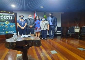 Sedecti assina Acordo de Cooperação Técnica com Fundação Itaú Educação e Cultura para criação de portal Amazonas em Mapas