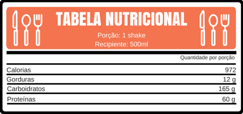 TABELA NUTRICIONAL MORANGO EXPLOSIVO