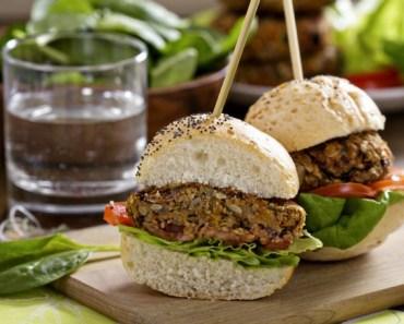 Como fazer hambúrguer de linhaça