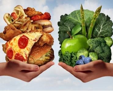 Bons Alimentos X Maus Alimentos