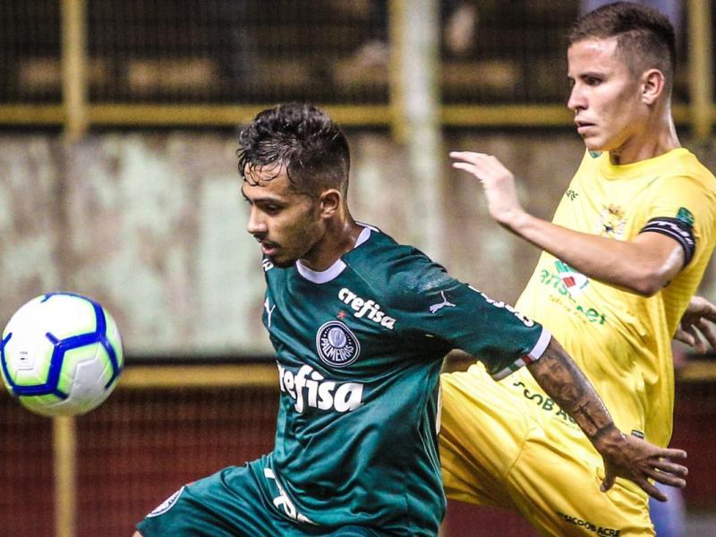 O Galvez foi derrotado hoje pelo Palmeiras, por 2 a 1.