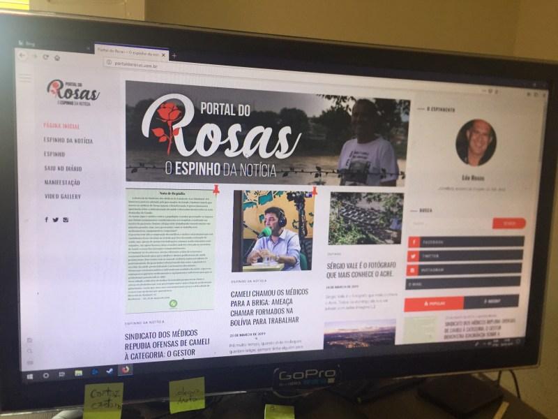 Em duas semanas, Portal do Rosas aumenta o acesso em 1.000 por cento