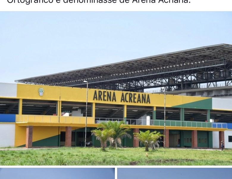 """Jornalista Altino Machado, assessor de Gladson Cameli, diz que feio seria a Arena Floresta ter passado a se chamar """"Arena Acriana"""""""