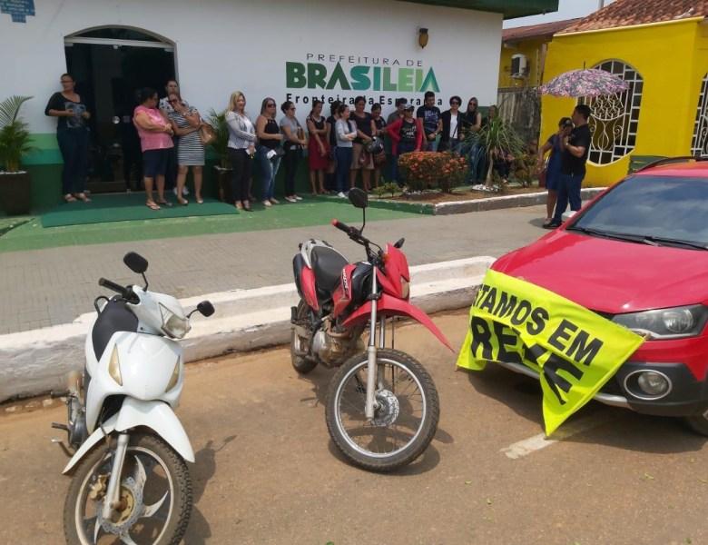 TJ manda suspender greve dos trabalhadores da Educação de Brasileia