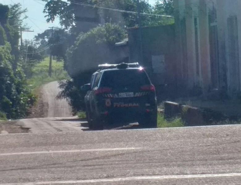 Polícia Federal faz operação em Capixaba, nesta manhã