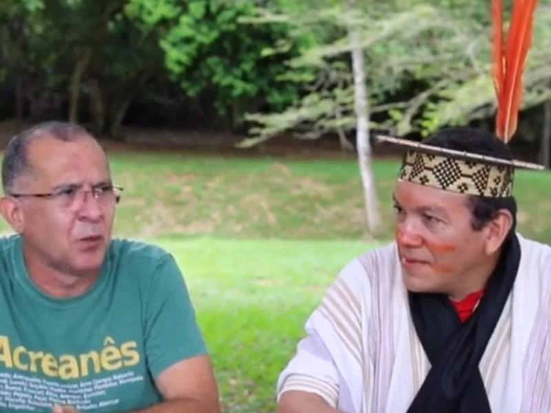 """""""O nosso diferencial é que aprendendo a respeitar e a conviver em aliança com a floresta"""", salienta Francisco Piyãko"""