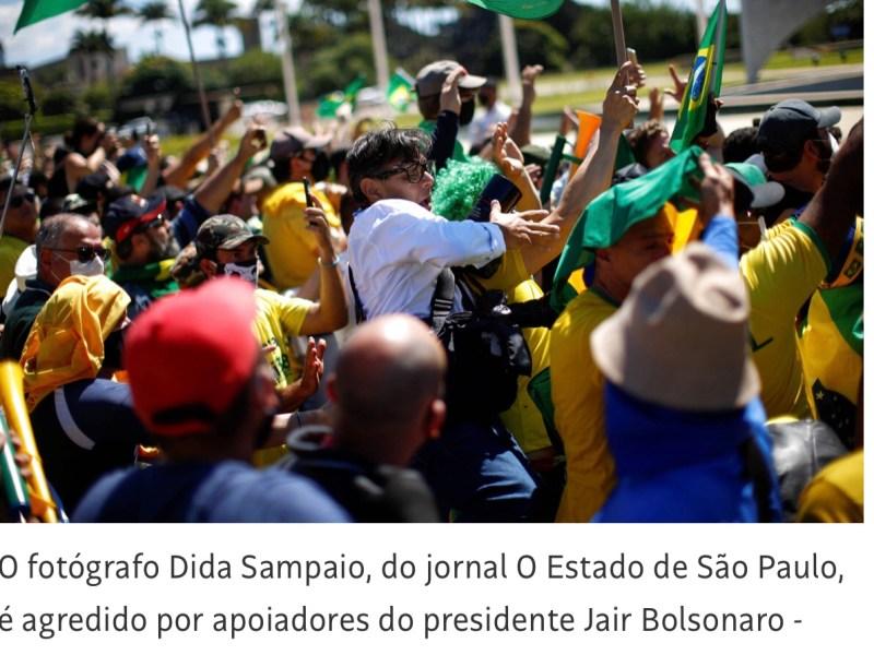 A escalada do golpe miliciano: exército bolsonarista ocupa Brasília