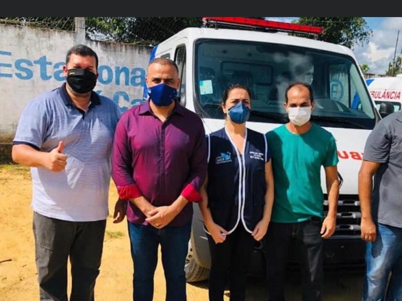 Emenda de Léo do PT garante ambulância para comunidade do Rio Liberdade
