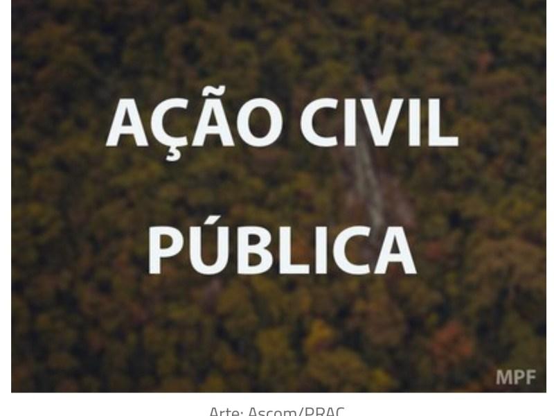 MPF quer suspender norma da Funai que libera grilagem em 39 Terras Indígenas no Acre