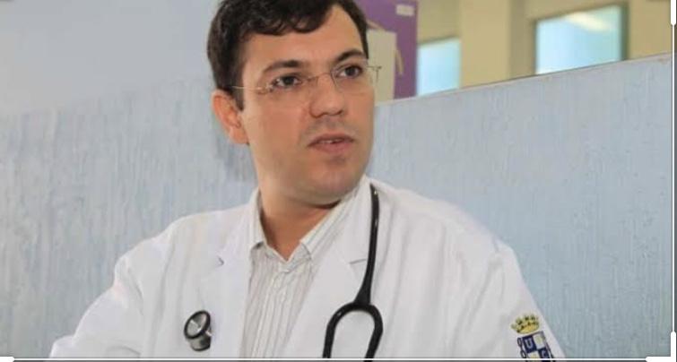 Médico Thor Dantas usa página no Facebook para informar que está se recuperando da Covid-19