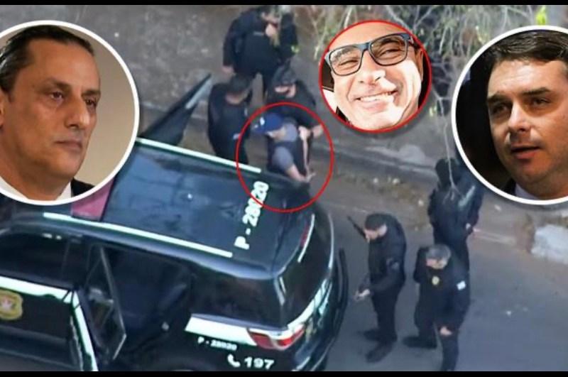 Queiroz estava escondido em imóvel de advogado de Flávio Bolsonaro