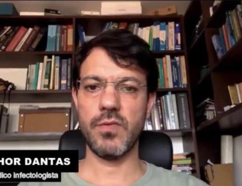 Médico Thor Dantas viaja para fazer tratamento contra Covid-19 em São Paulo