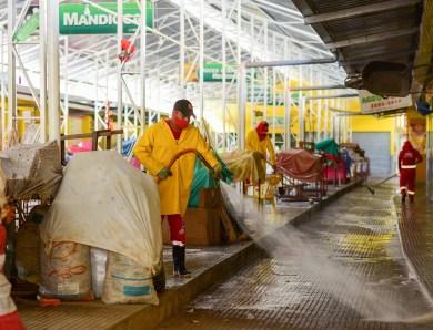 Prefeitura reforça higienização e sanitização de equipamentos públicos
