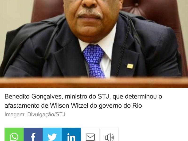 Witzel é detestável, mas foi monocraticamente afastado sem depor. Não dá!