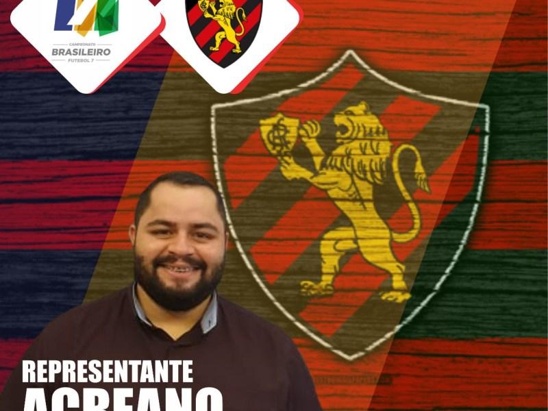 Fisioterapeuta acreano é convidado para atender o Sport Recife no Campeonato Brasileiro de Futebol 7