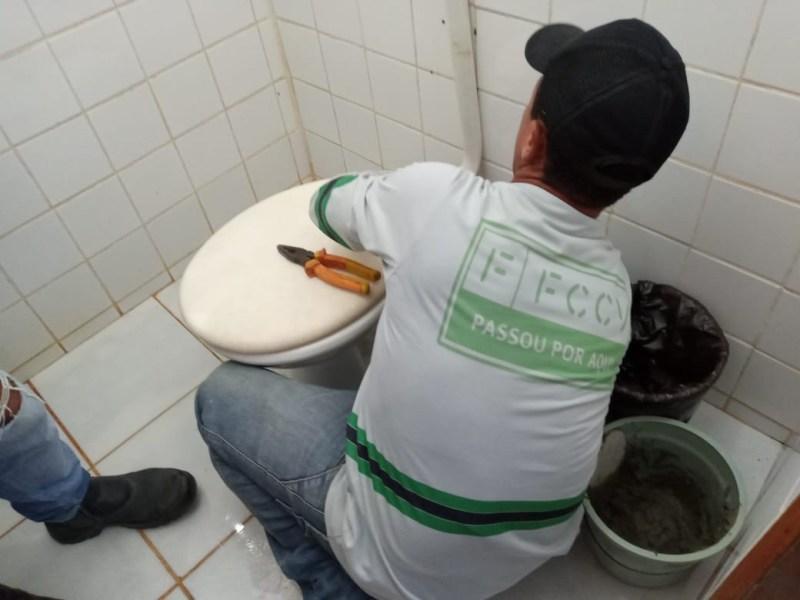 FCCV realiza serviços de manutenção na UBS Pastor João Braz, no bairro João Alves