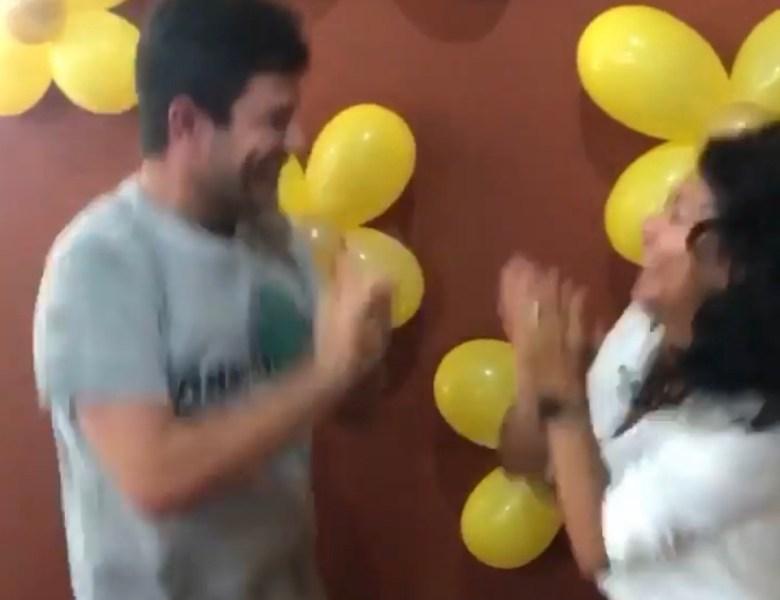 Vídeo: Gladson aparece dançando sem máscara; será que ele tomou a vacina?