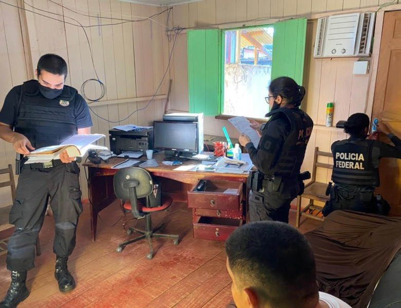 Polícia Federal deflagra a Operação Metáfora em Brasileia e Epitaciolândia