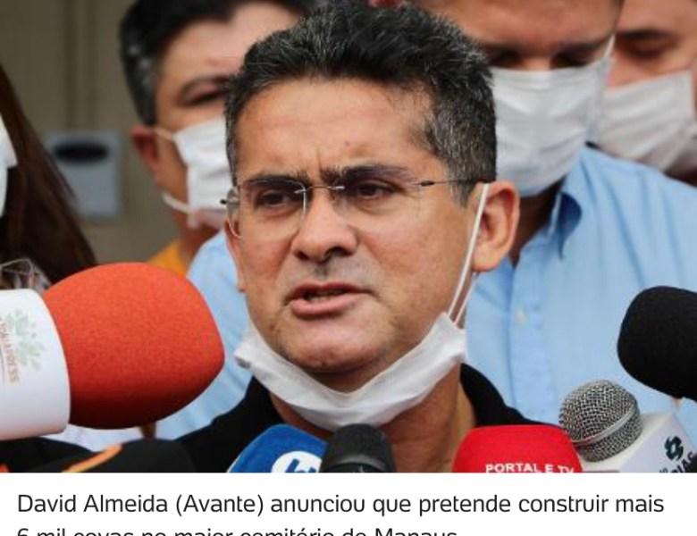 Prefeito admite colapso e diz que Manaus só tem covas para '2 ou 3 meses'