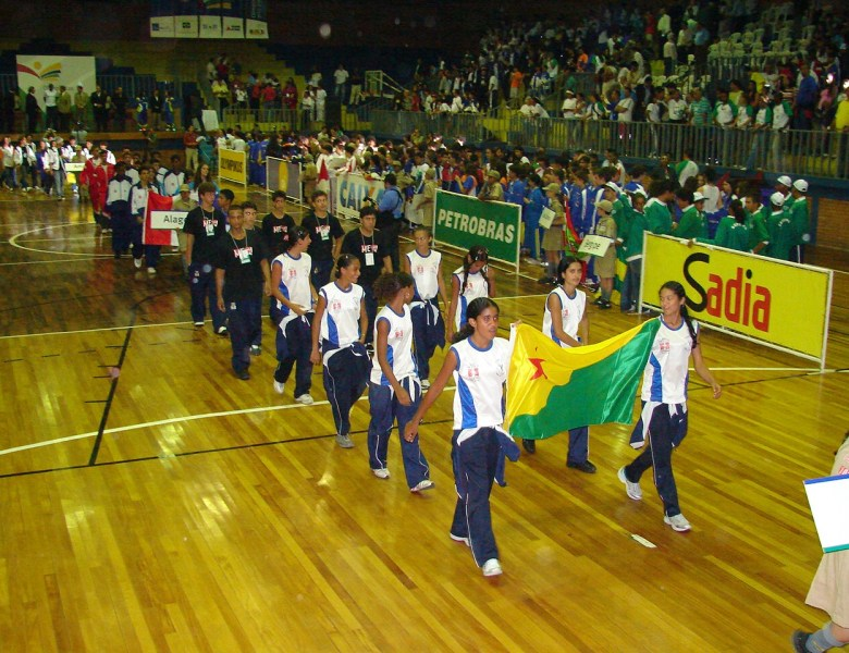 Arquivo do Façanha: imagens da participação no Jogos Escolares de 2006