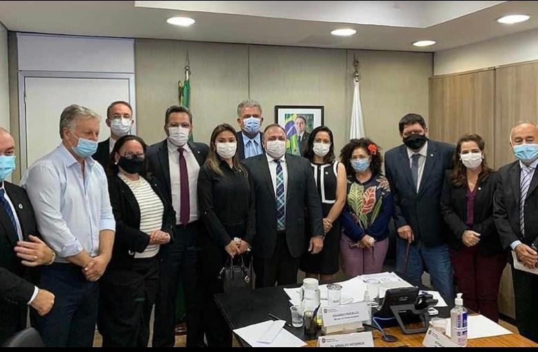 Reunião da bancada com ministro da Saúde revela falta de prestígio nacional da bancada bolsonarista acreana