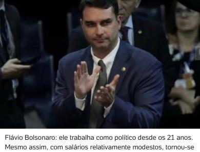 Warren Buffett tem de escolher Flávio Bolsonaro como seu sócio no Brasil