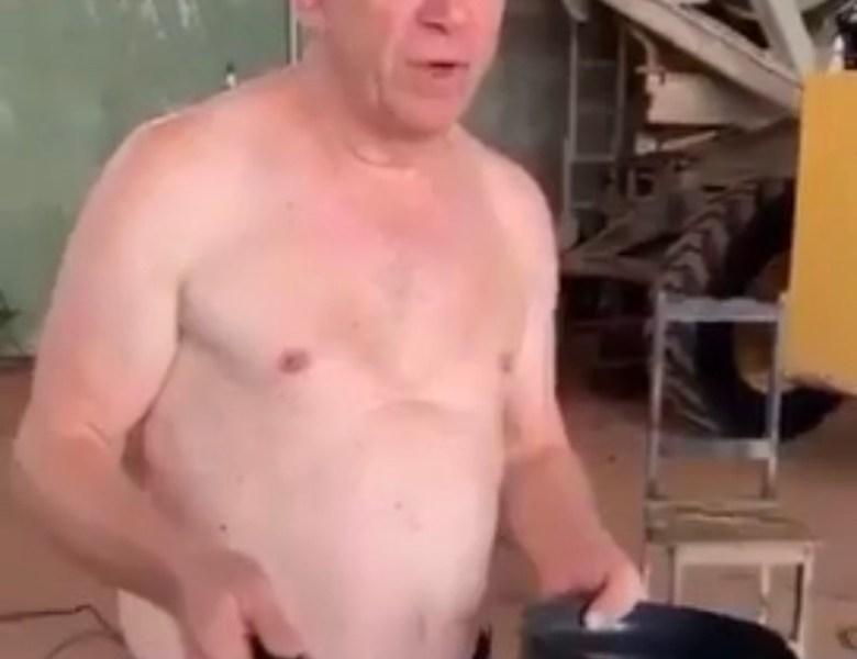 Estupidez sem limite: Ivo Cassol testa faísca de solda elétrica contra COVID-19