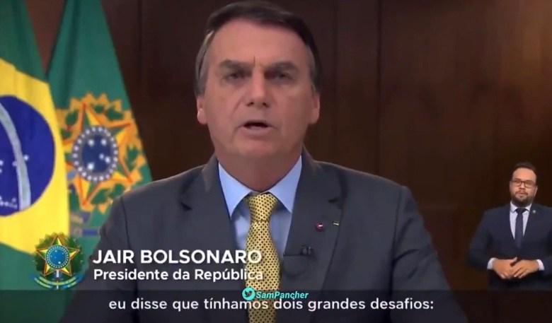 VÍDEO: Mentiras de Bolsonaro são desmentidas pela boca grande do próprio Bolsonaro