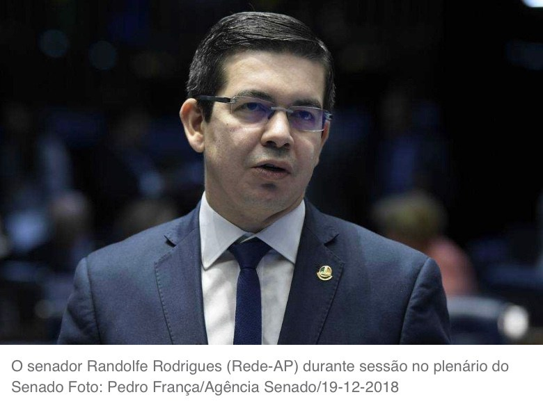 Rede vai entrar no STF contra orçamento inflado, diz senador