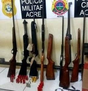 MPF representa pela inconstitucionalidade de gratificação por apreensão de armas de fogo no Acre