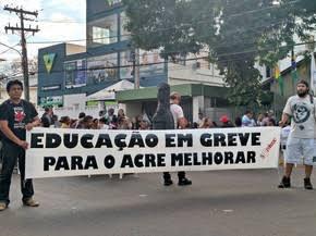 Desembargador determina que governo e Sinteac sentem em audiência de conciliação para decidir sobre greve