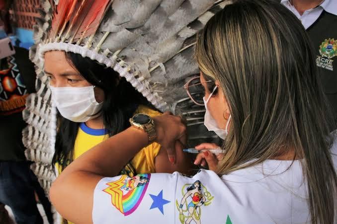 Justiça determina inclusão de indígenas não aldeados na fase 01 da vacinação contra Covid-19