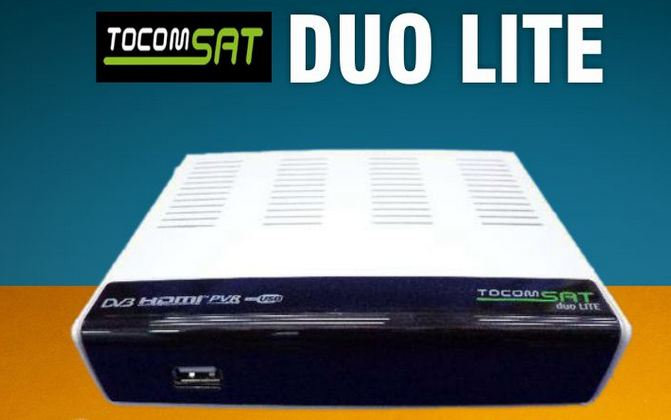Colocar CS TOCOMSAT DUO LITE SD RECOVERY TOCOMSAT DUO LITE VIA CABO RS232 comprar cs
