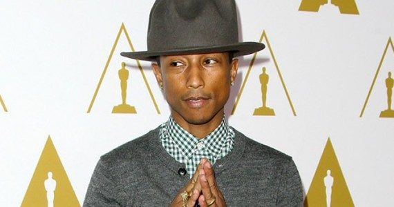 Pharrell Williams Oscars 2014