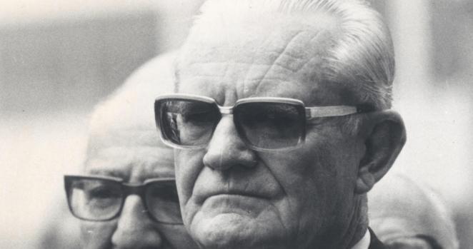 Presidente ditador Ernesto Geisel.