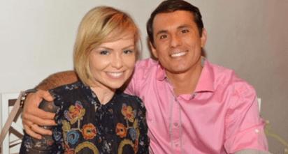 Bianca Toledo comemora 6 meses de casamento com novo marido.