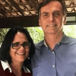 Futura ministra dos Direitos Humanos do governo Bolsonaro.
