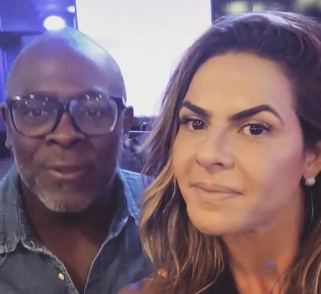 Cantor gospel Kléber Lucas e Danielle Favatto estão separados.