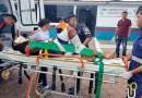 Moto colide  com carro de Auto Escola na Av. Acariquara em Presidente Figueiredo