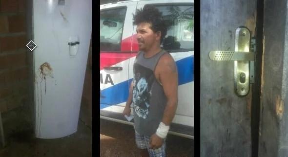 Aposentado sobrevive a tentativa de homicídio na Comunidade Sta. Cruz em Presidente Figueiredo