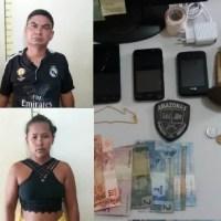 Polícia prende quadrilha de traficantes em Presidente Figueiredo