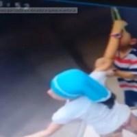 Irmã salva menino de 5 anos de quase se enforcar em elevador; veja o vídeo